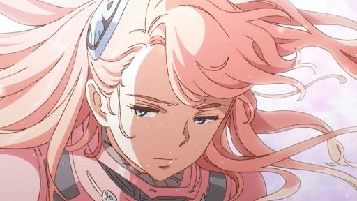 Screenshot from anime Gundam Reconguista in G