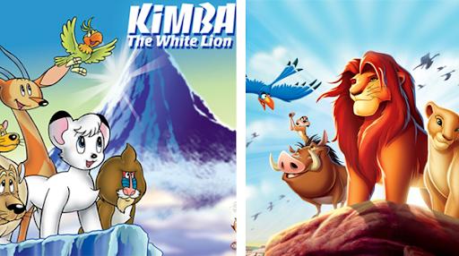 Kimba the White Lion Compared to Simba