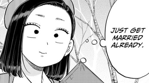 Komi Can't Communicate manga page