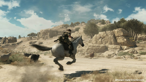 Metal Gear Solid Gameplay Horse