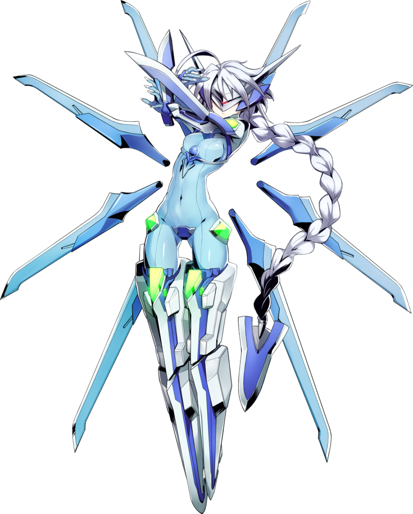 Nu-13 from BlazBlue
