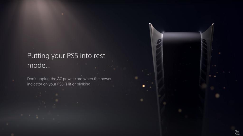 PS5 Shutdown