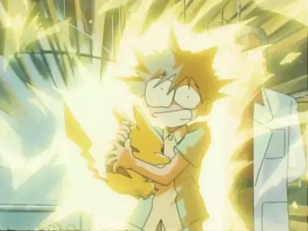 Pokemon Ash Pikachu Shock