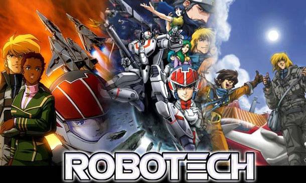 Robotech Anime Visual
