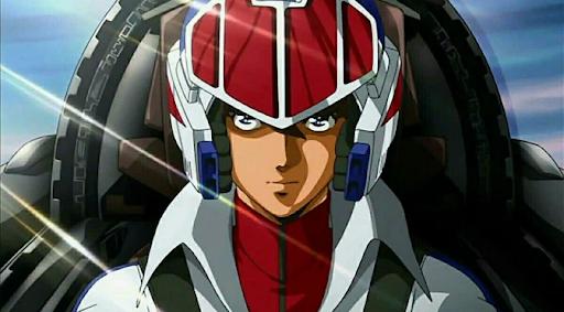 Screenshot of Rick Hunter from Robotech Anime