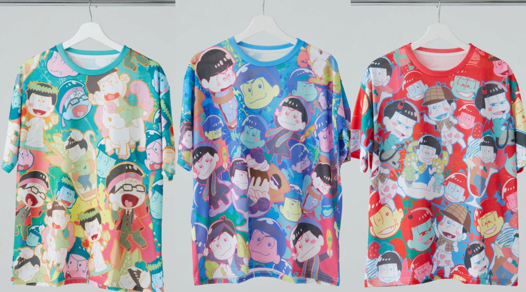 New Osomatsu Shirts And Masks Are Bursting With Charm
