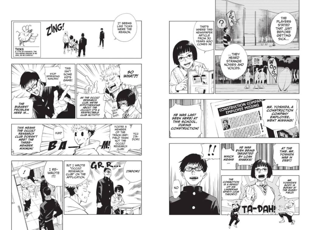 Jujutsu Kaisen chapter 1