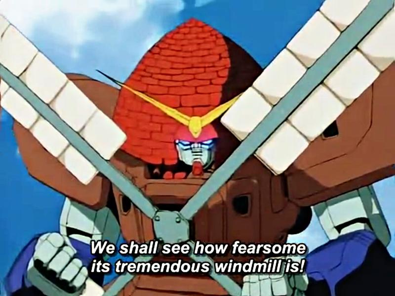 Image of Hurricane Gundam from Mobile Fighter G Gundam