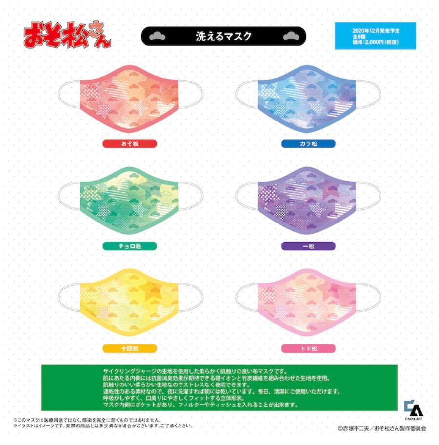 Osomatsu-san Masks