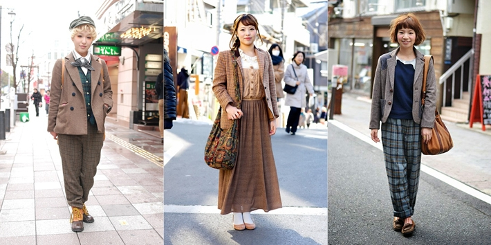 Contemporary Japanese women's fashion isn't quite as loud as some expect, but the personal expression is apparent.