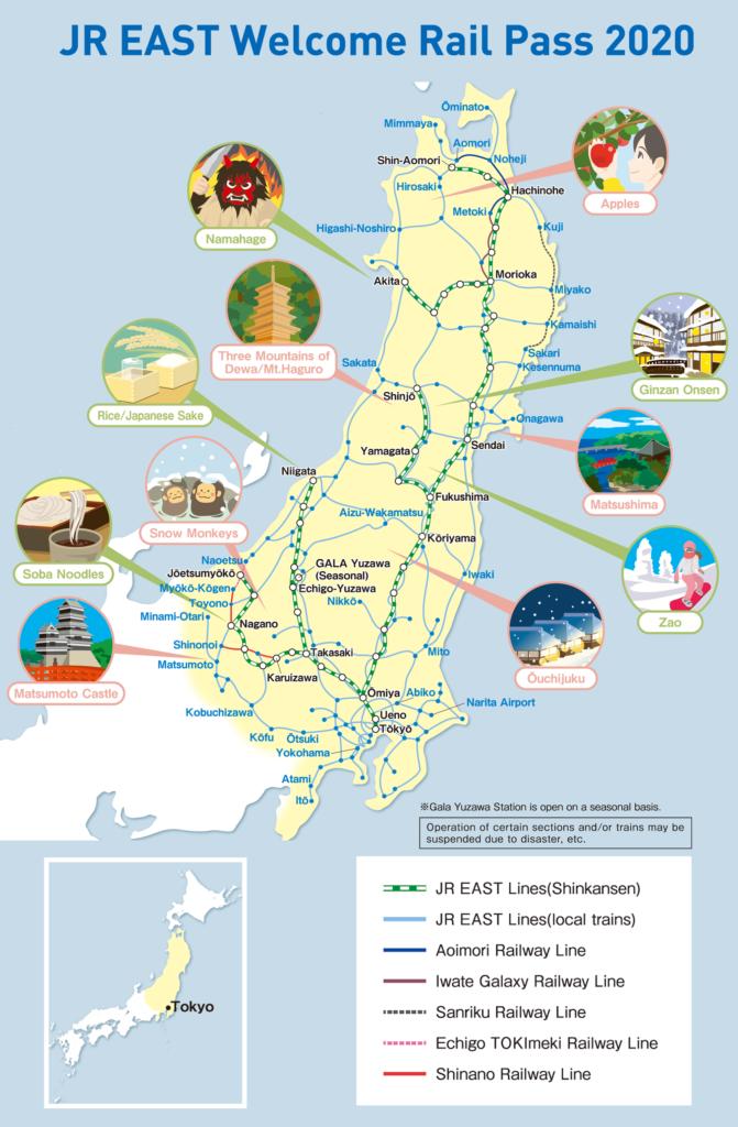 rail pass map