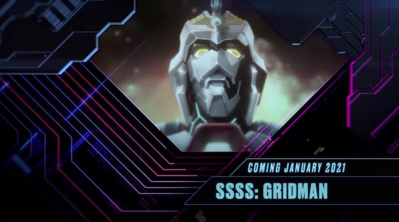SSSS.Gridman Anime 2021 Toonami Announcement Visual