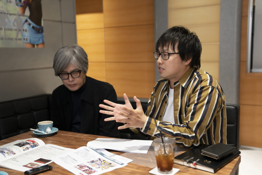 Shibuya PARCO - Takashi Sensui & Yu Takanami