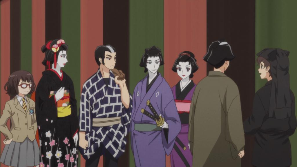 Kabuki anime series screenshot