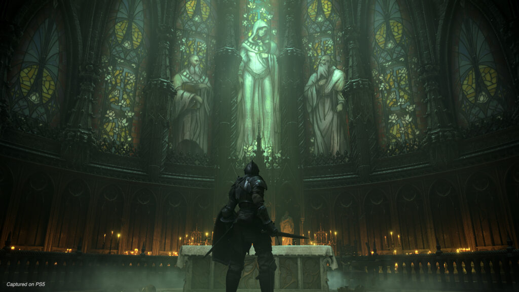 Image from the Demon's Souls Game for Playstation 5