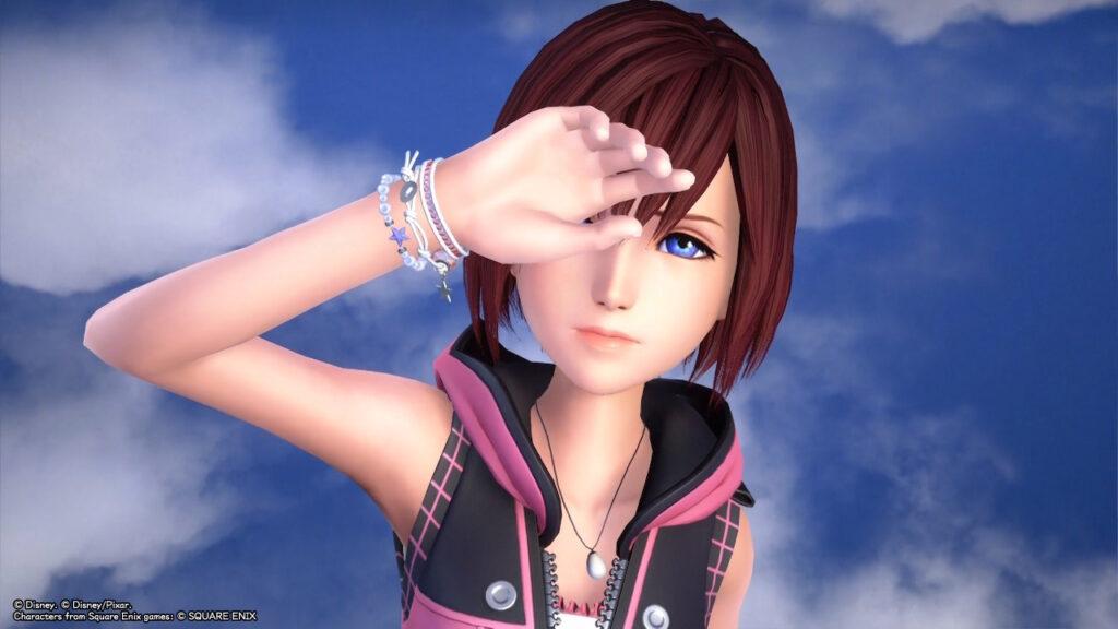 Kairi in Kingdom Hearts: Melody of Memory