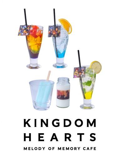 Kingdom Hearts Melody of Memory Cafe Drinks