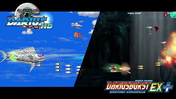 Darius Cozmic Revelation Game Image Top