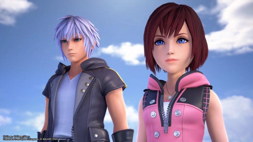 Screenshot from Kingdom Hearts: Melody of Memory