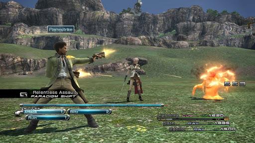 Final Fantasy XIII Gameplay