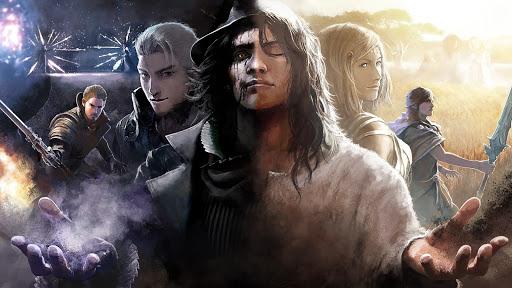 Final Fantasy XV Comrades illustration