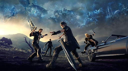 Final Fantasy XV game illustration