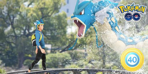 Gyarados Cap in Pokémon GO