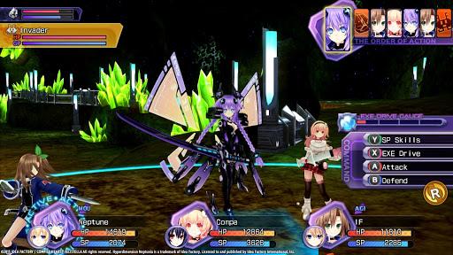 Hyperdimension Neptunia Game
