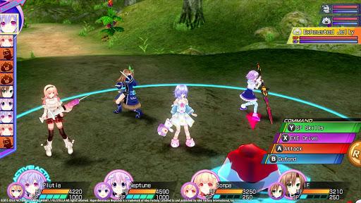Hyperdimension Neptunia Gameplay