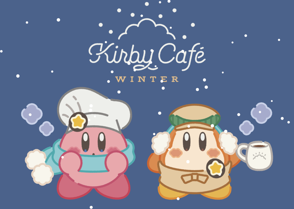 Kirby Cafe Winter Top