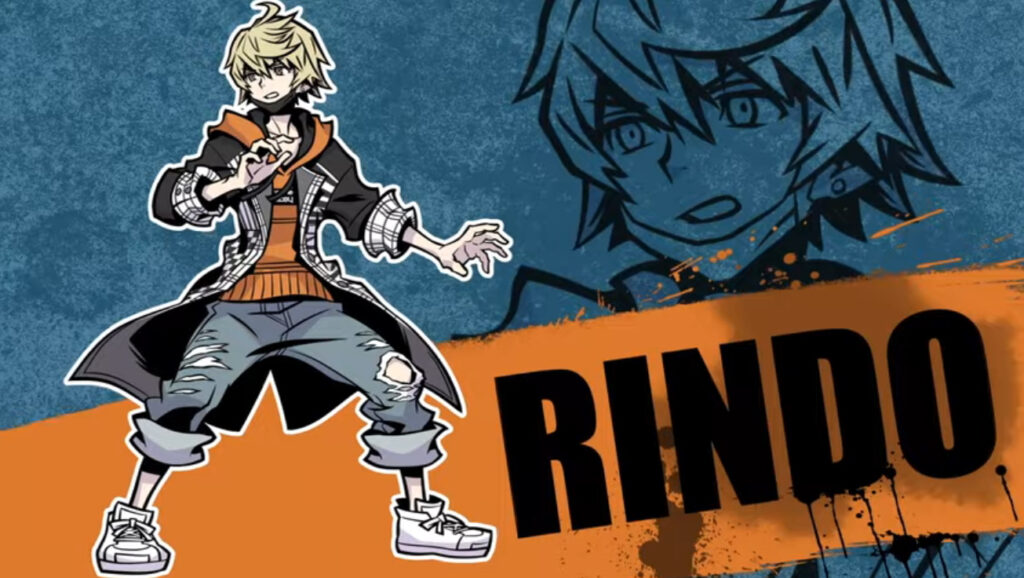 Rindo from game NEO: The World Ends With You