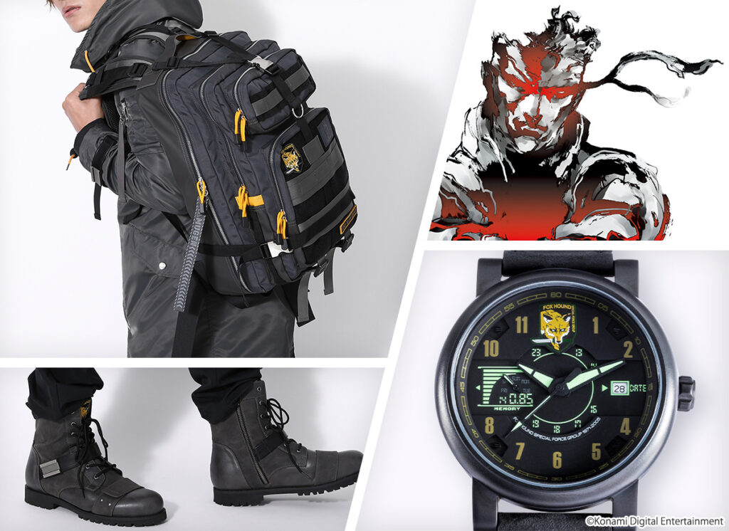 SuperGroupies Metal Gear Solid Accessories