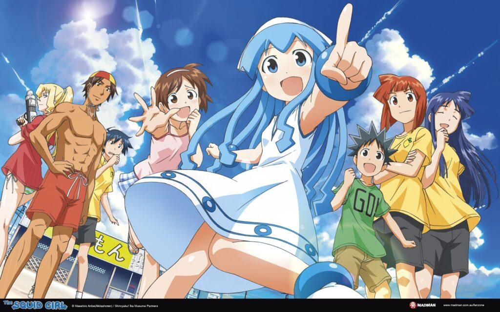 Squid Girl Anime