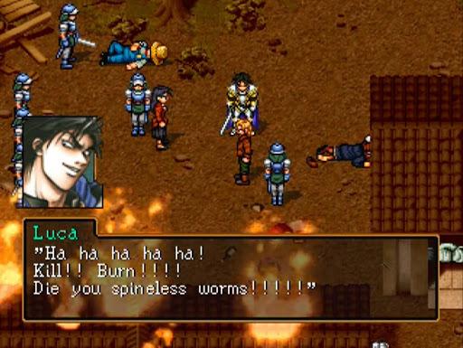 Screenshot of Suikoden II Gameplay