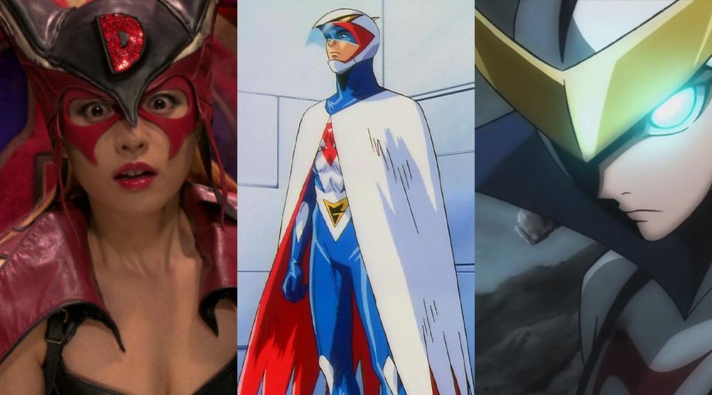 Characters from Tatsunoko Productions
