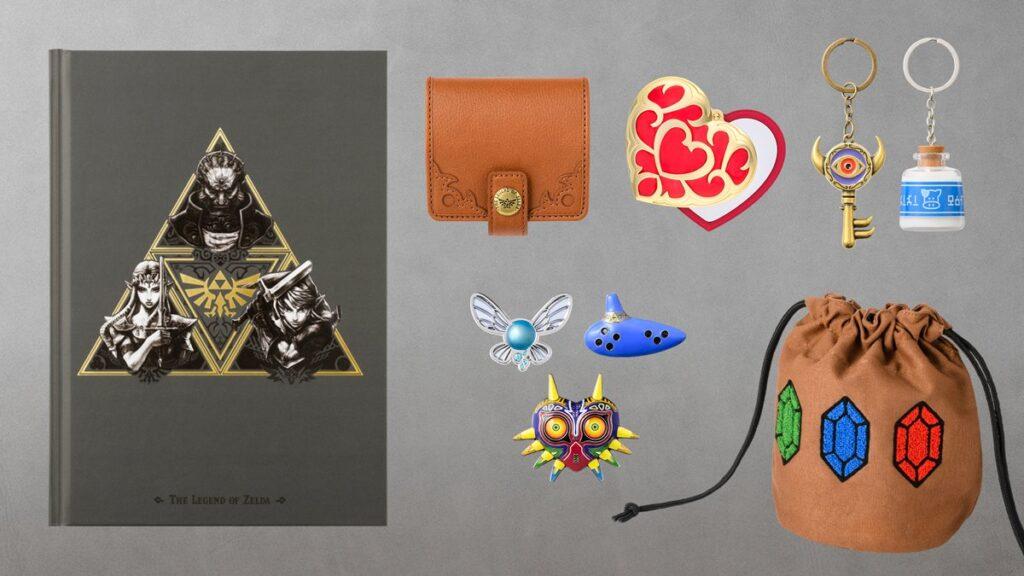 Hyrule Warriors: Age of Calamity Zelda Goods 2