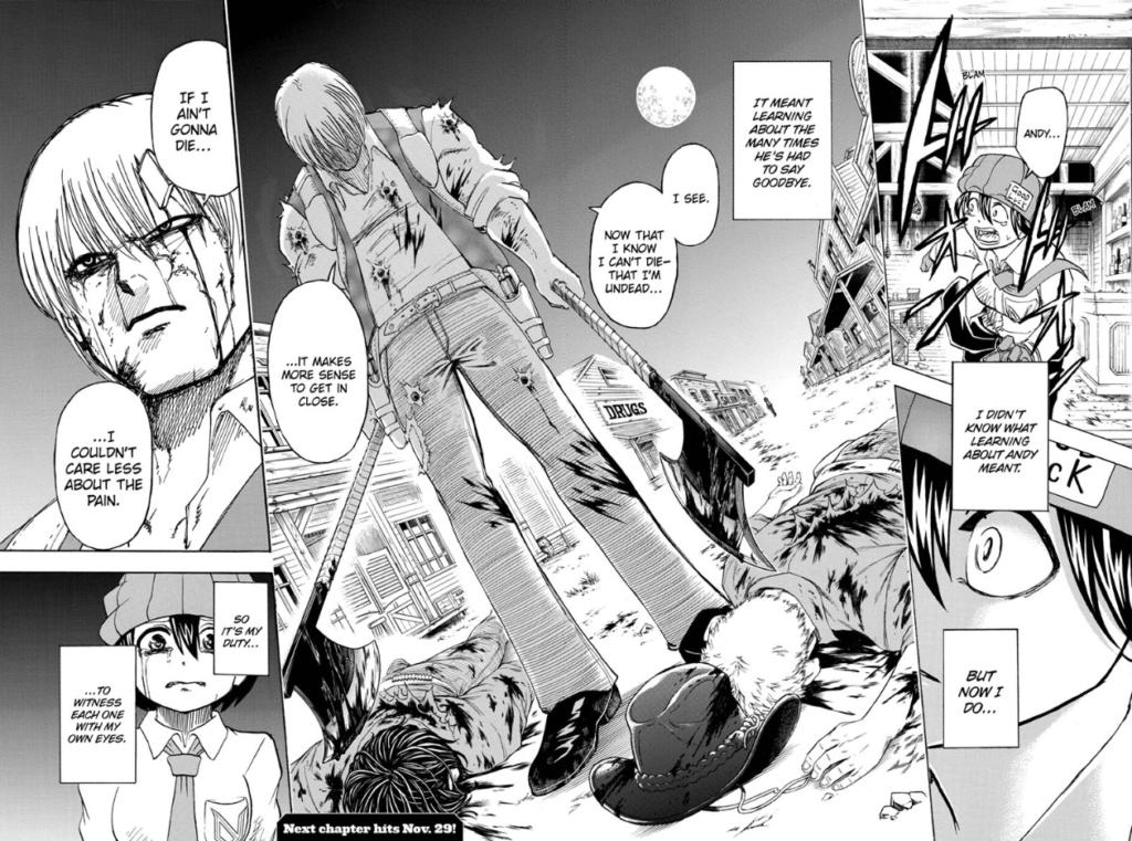 Undead Unluck chapter 41 Manga