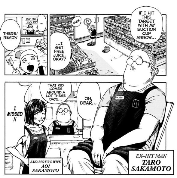 Sakamoto Days Chapter 1 Manga