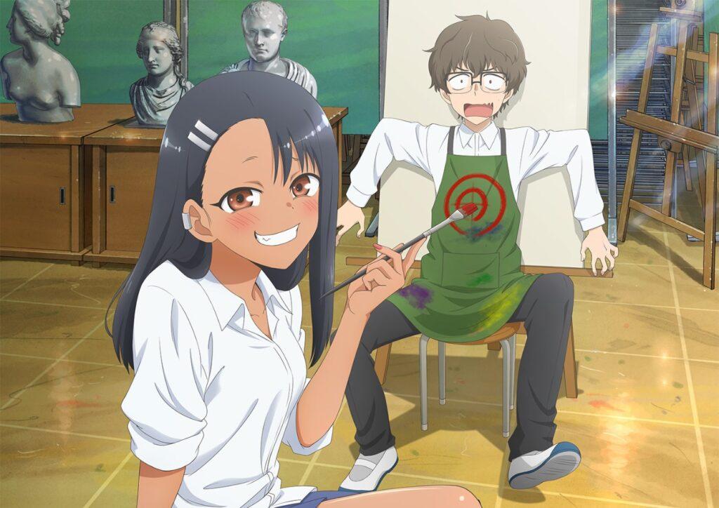 Nagatoro-san anime key visual