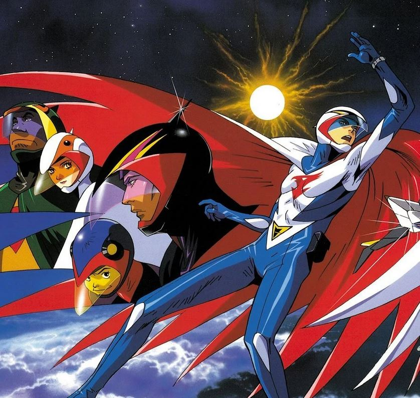 Gatchaman (Battle of the Planets) illustration