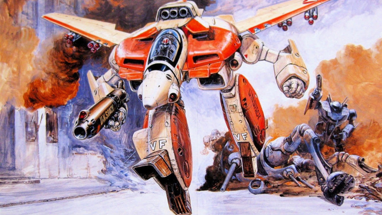 Valkyrie from Robotech