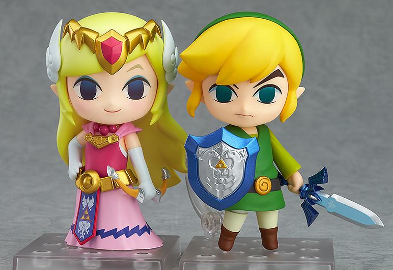 Zelda & Link Nendoroid