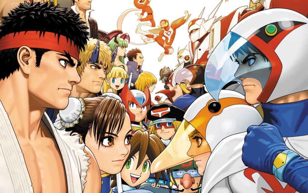 Street Fighter vs Tatsumoto illustration