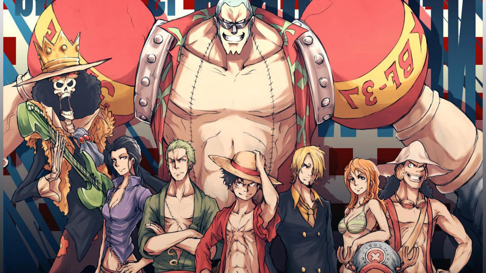 One Piece anime illustration