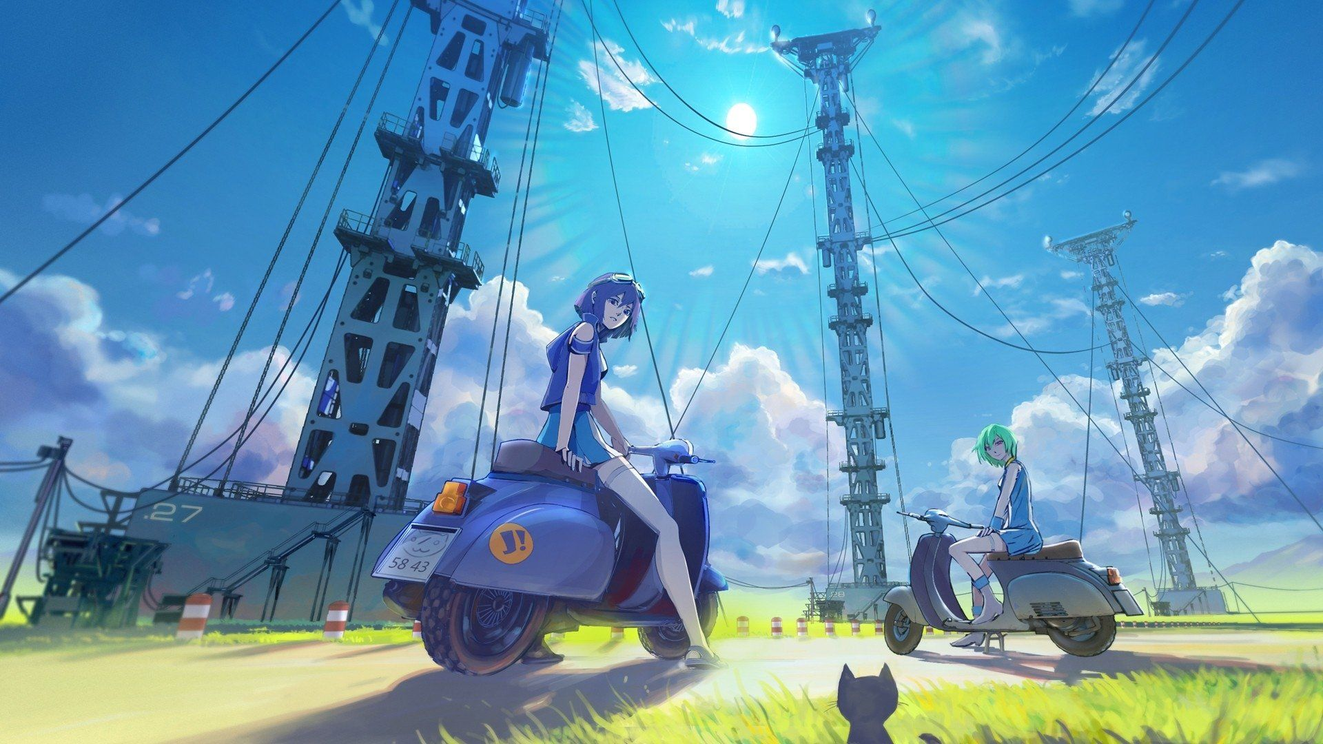 Eureka Seven anime wallpaper