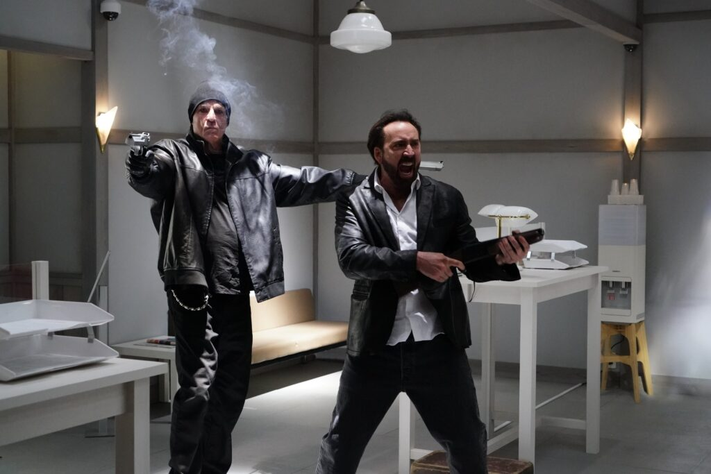 Screenshot from movie Prisoners of the Ghostland