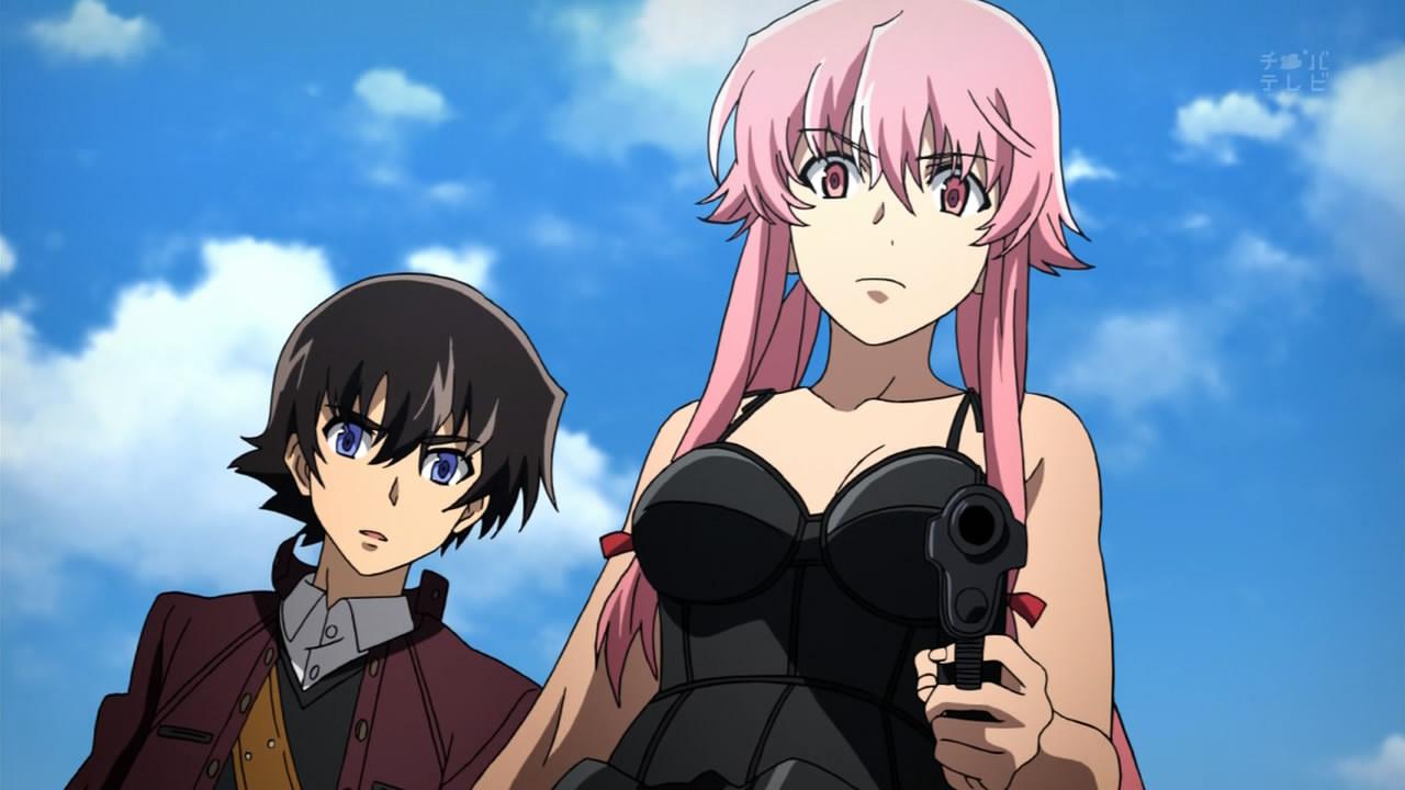 Yuno Gasa from anime Future Diary