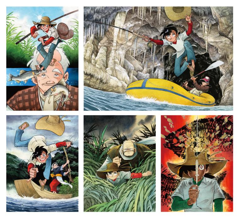 Takao Yaguchi illustrations