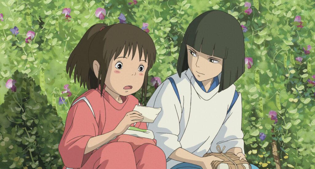 Screenshot from anime movie Spirited Away