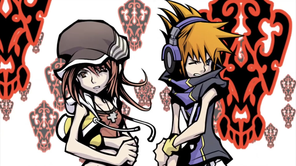 Neku and Shiki from game The World Ends With You